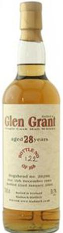 Glen Grant Scotch Single Malt 28 Year 1112@ Malt Trust